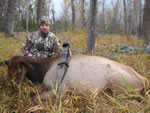Jim Neaves and his first Elk