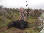 Jim Neaves and another nice Hog